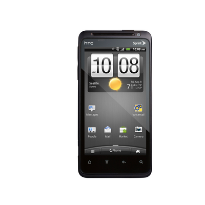 HTC EVO Design 4G™ screen