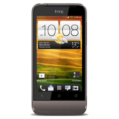 HTC One V screen