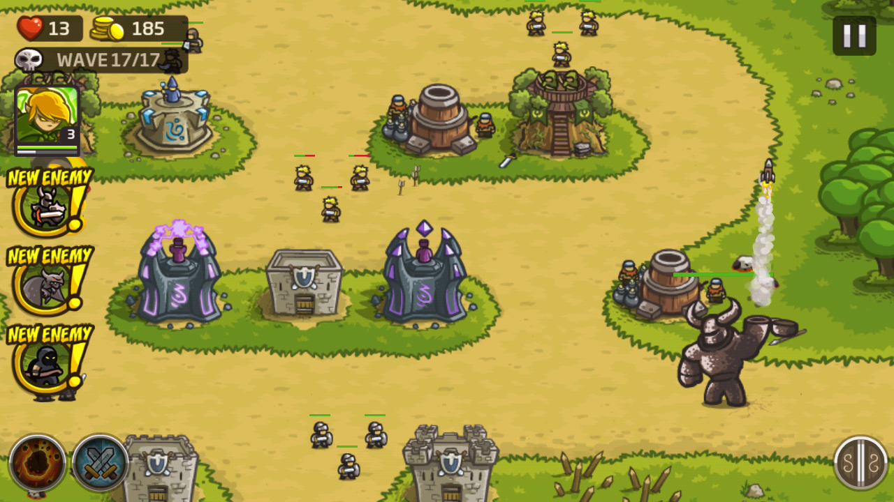 Kingdom Rush Review: Orcs and Trolls and Yetis, Oh My