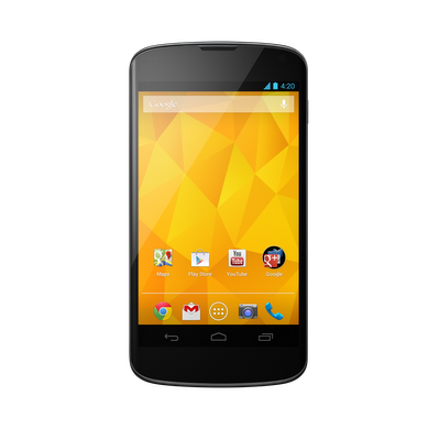 LG Nexus 4 screen