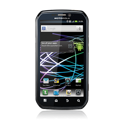 Motorola Photon™ 4G screen