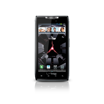 Motorola DROID RAZR screen
