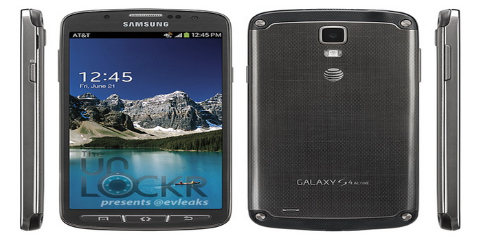 Photos of Samsung Galaxy S4 Active Branded AT&T Leaked