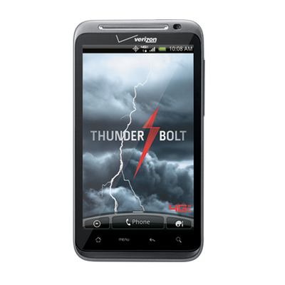 HTC ThunderBolt™ screen