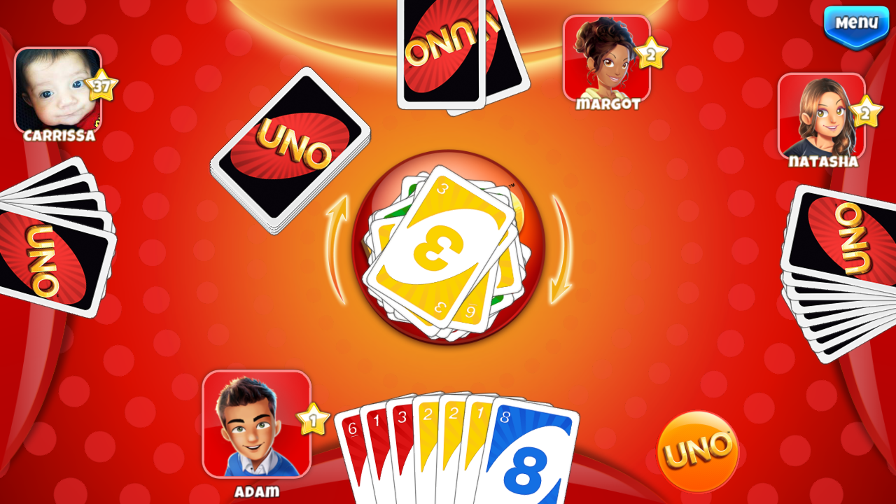 gameloft releases uno friends for android android news android apps. Black Bedroom Furniture Sets. Home Design Ideas