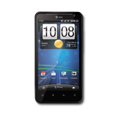 HTC Vivid™ screen