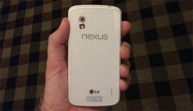 White Nexus 4 spotted, will be released in June with Android 4.3