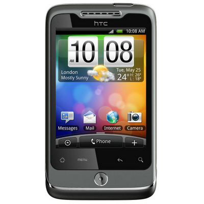 HTC Wildfire (CDMA) screen