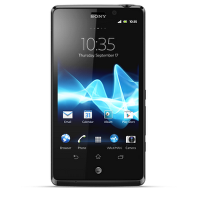 Sony Xperia™ TL screen
