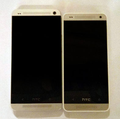 Here is the new HTC One Mini