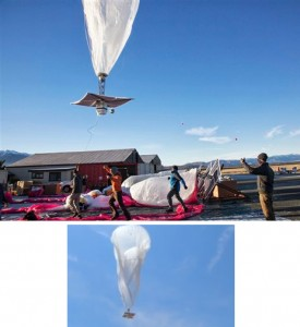 Google Reveals Project Loon, Internet from Balloon
