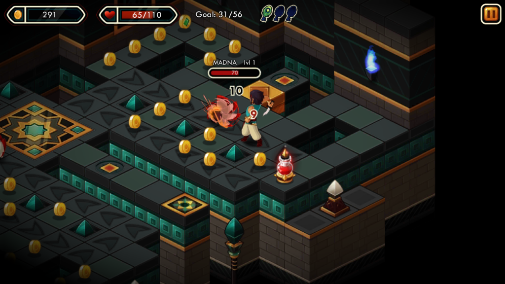 Quick Review: Treasure Tower Sprint from Sava Transmedia