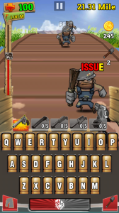 Type to Take Down Bandits in Wagon Shootout for Android