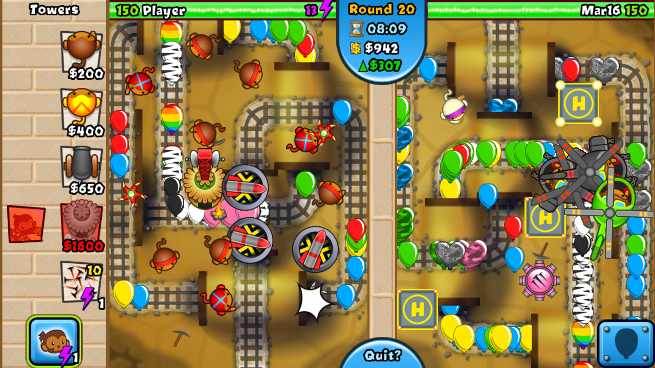 Bloons TD Battles Review Battling Balloons with AbandonAndroid Apps