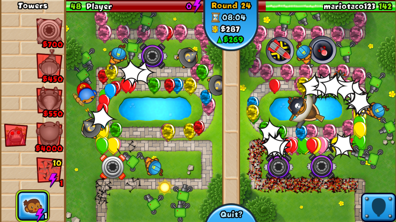 Bloons TD Battles Review: Battling Balloons with Abandon - Android App ...