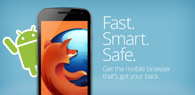 Firefox for Android Gets a Cool Update : NFC, WebRTC and More!