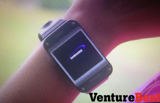 Here Comes a Prototype Picture of the Samsung Galaxy Gear Smartwatch
