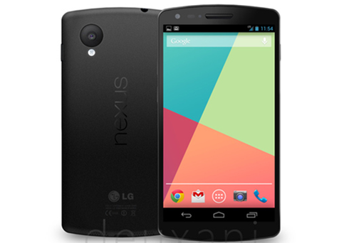 The Nexus 5 Spotted in a Bar, Launching Date Rumored to be October 14