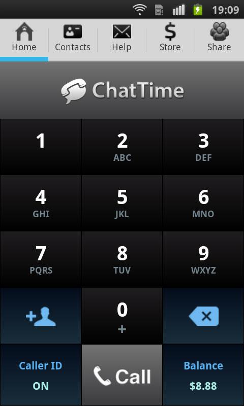 International Calling With the ChatTime App for Android