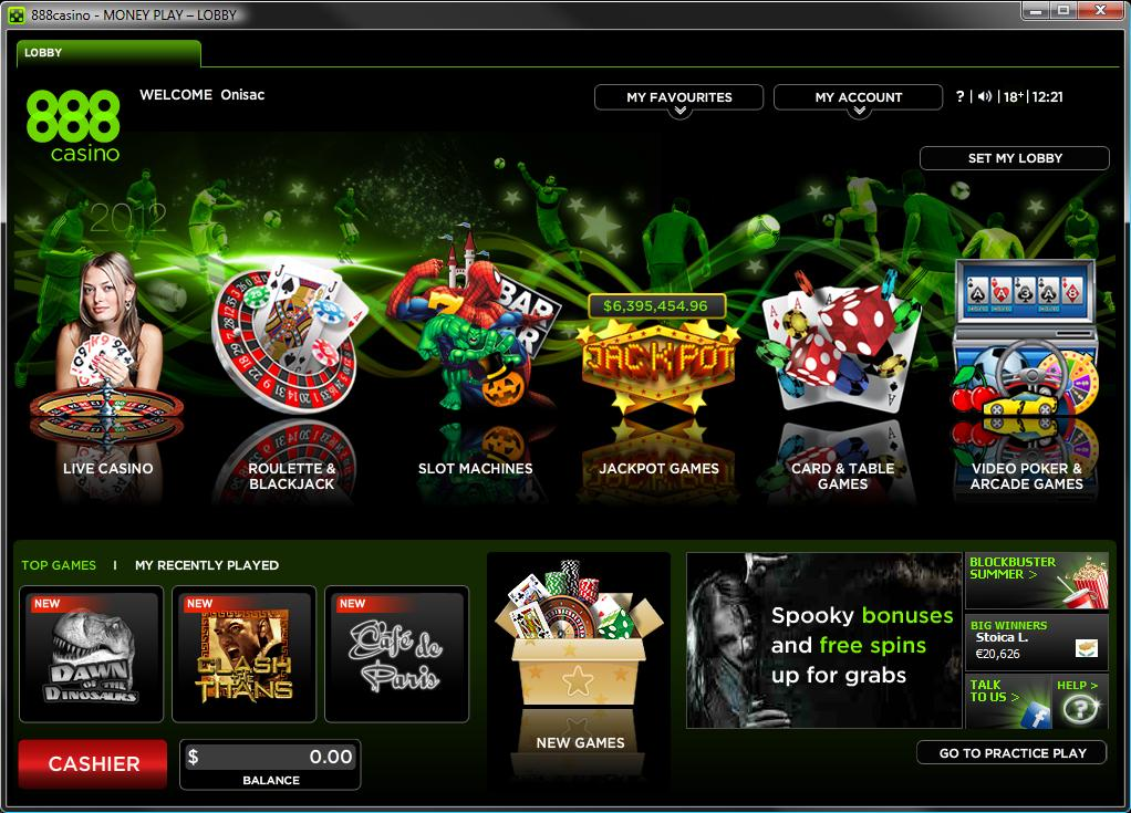 888 casino download for android