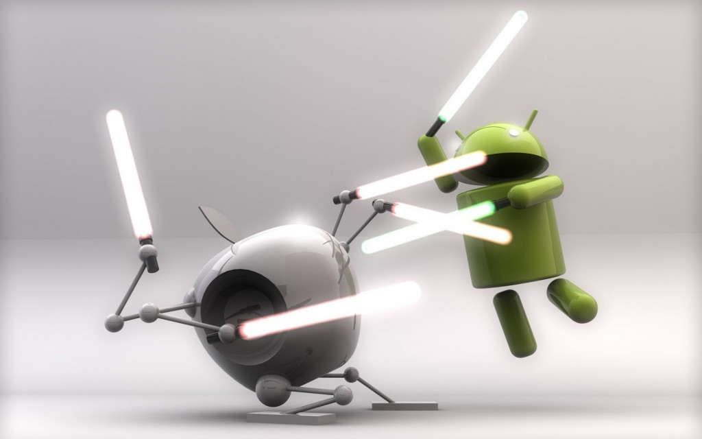Android and iOS Rivalry