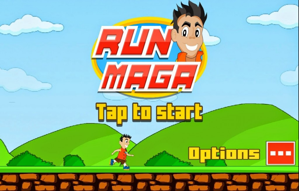 RunMaga, The Casual Android Game From Gewii Mobile