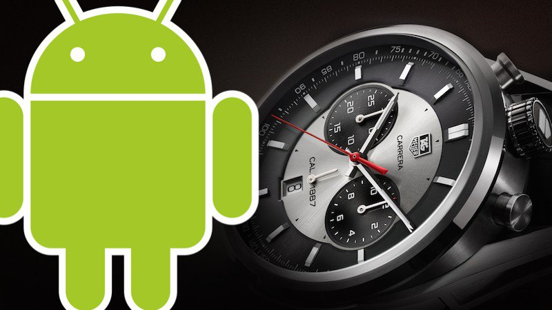 Tag Heur Android Wear Smartwatch