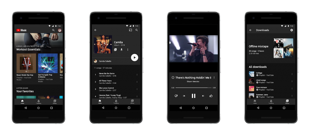 YouTube Music Officially Launched; YouTube Red is Now YouTube Premium