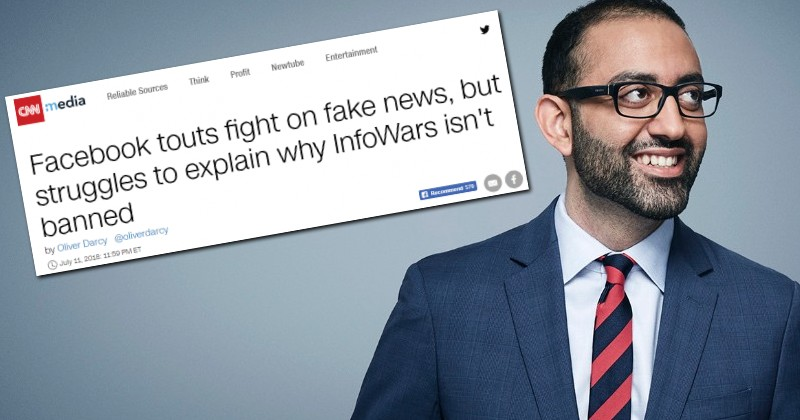 facebook cnn infowars