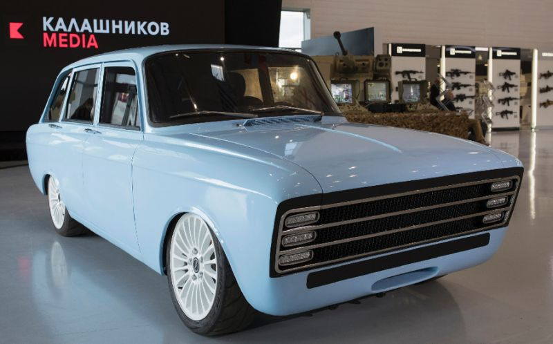 kalashnikov electric vehicle