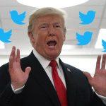 Trump blasts social media