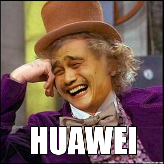huawei caught cheating